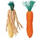 """""""Trixie"""" - Играчка за гризачи - морков от въже 2 бр."""