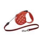 Автоматичен повод за куче Flexi Flamingo Special Edition - въже 5м за кучата до 20кг