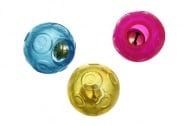 Играчка good 4 fun топка с котешка трева и звънче, 4 см