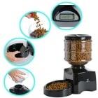 Автоматична хранилка за кучета и котки - Голям капацитет до 3кг/5л