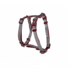 Нагръдник за куче Camon DOUBLEPREMIUM GREY/RED, различни размери