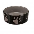 Керамична купа за кучета и котки Trixie, на лапички, два размера