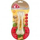Лаконство за куче 8in1 -  Екстра твърди кокали с пилешко месо – за дълготрайно дъвчащо забавление - три размера