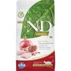 Храна за кастрирани котки в зряла възраст над 1 гoдина N&D Prime Adult Neutered, с пилешко месо и нар,1.50кг