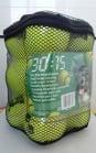 Тенис топка от Карлие 6см комплект 12бр