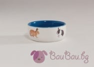 """""""Pet Products"""" - Керамична купа за зайчета"""