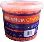 Aqua Nova Пясък наситено оранжево 4-8mm - разфасовка 5кг