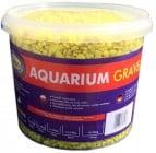 Aqua Nova Пясък изкрящо жълто 4-8mm - разфасовка 5кг