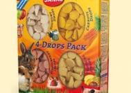 Sanal 4 Drops Pack - четири различни вкуса деликатесни лакомства - 140 гр.