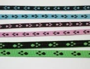 Нашийник от изкуствена лента Спорт+ с десен  - различни размери и цветове