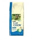 Cat Chow Adult - Балансирана храна за пораснали котки с риба тон и сьомга, богата на мастни киселини Омега-3 и Омега-6