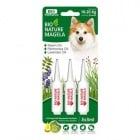 Bio-Nature spot-on за кучета - намалява падането на козината, стимулира растежа и подхранва кожата в дълбочина, 10-20 кг. 3 бр.