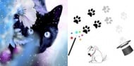 Котки и кучета с магически произход