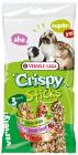 """""""Sticks Triple Variety Pack Herbivores"""" - Крекери със зеленчуци, горски плодове и билки"""