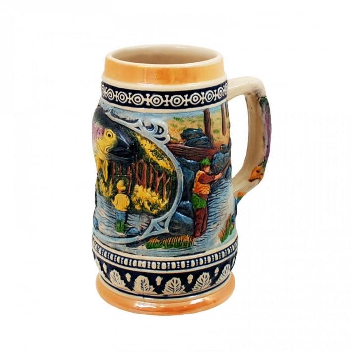 Халба за бира Риболов