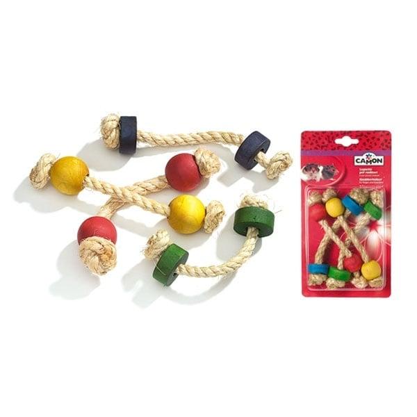 Играчка въжета за гризачи