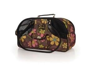 Луксозна чанта на цветя