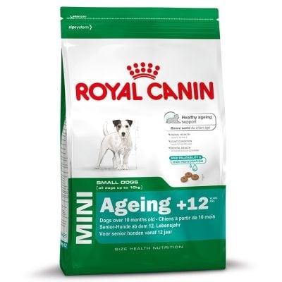 """""""Mini Ageing +12"""" Храна за кучета от дребни породи над 12 години"""