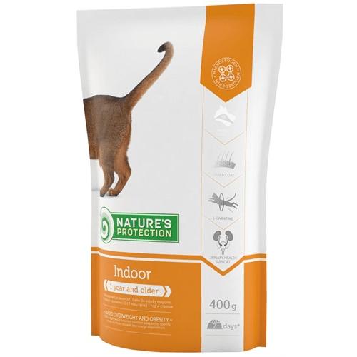 Nature`s Protection Indoor - Храна за котки, живеещи в затворени помещения - насипна
