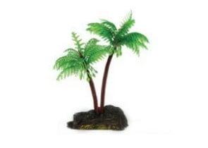 Декоративно палмово дърво - 8x9см.