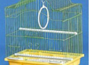 Клетка за вълнисти папагали -начупен покрив
