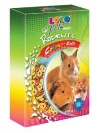 LOLO храна за гризачи цветни кръгчета 300гр.