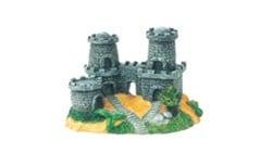 Замък с три кули /сив/