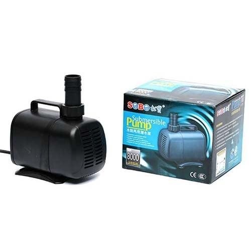 Sobo WP 8000 - помпа за фонтан 135W 6000L/H 5,5m/max