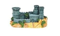 Замък със защитна стена