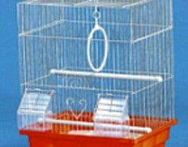 Клетка за вълнисти папагали -прав покрив