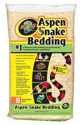 Zoo Мed Aspen Snake – постелка за змии, 4.4л.