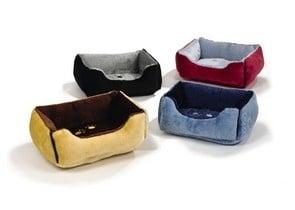 Правоъгълни двулицеви легла в различни цветове