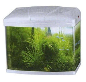 Sobo AA 380F - аквариум с капак, енергоспестяващо осветление и вътрешен филтър 35 литра