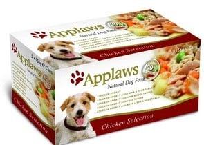 Applaws Dog Multi Pack Chicken-микс пилешки гърди,говеждо,сьомга 5x156 гр