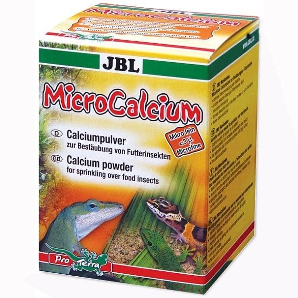 JBL MicroCalcium - Калций на прах за влечуги  100мл