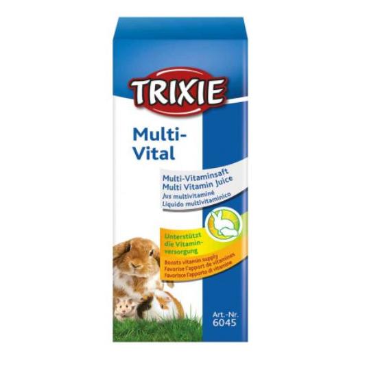 Течен мултивитамин за малки и голями гризачи Trixie Multi-Vital, 50 мл