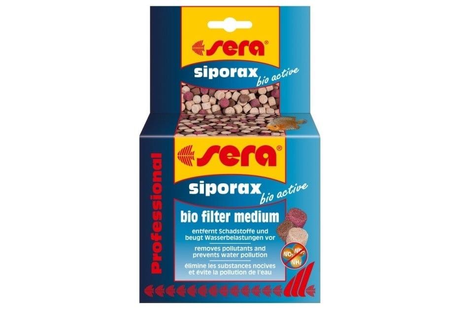 Биологичен филтърен материал sera siporax bio active Professional с добавени активиращи бактерии