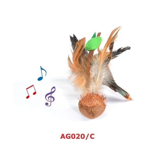Играчка за коте със звук 4cm