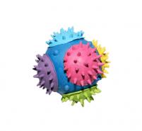 RELY Гумена топка с шипове 8см / 160гр