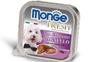 MONGE FRESH - Пастет с парченца месо  100гр. различни вкусове