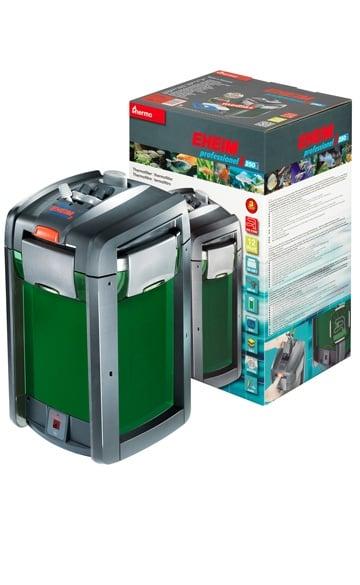 Външен филтър thermofilter professionel 3 250T с heater control и EHEIM filter media MECH pro и SUBSTRAT pro