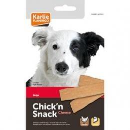 Лакомство за куче Chick'n Snack - мек снакс ленти пилешко и сирене от Karlie, Германия