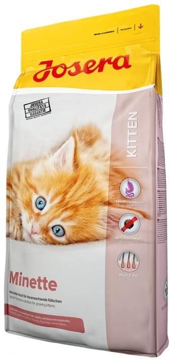 Josera Minette - храна за подрастващи котенца, бременни и кърмещи котки - 10 кг.