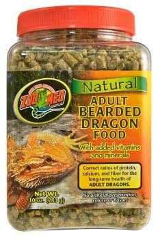 Храна за израснали брадати агами - Bearded Dragon от Zoo Med, САЩ      Начало     Терариумни животни     Хра