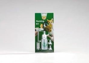 Комплект за хранене на малки котенца и кученца