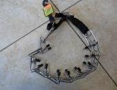 Строг нашийник за кучета с тапи и пластмасова тока