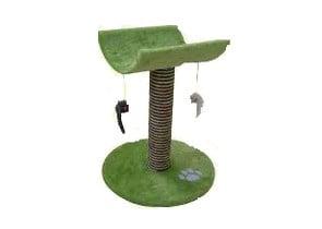 Драскало столче с играчки мишки
