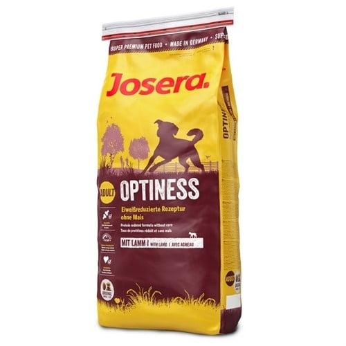 Josera Optiness - Суха храна за кучета от средни и големи породи - намалено съдържание на белтъчини
