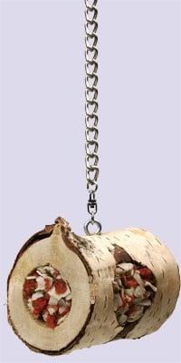 Дървено руло за средни и големи папагали