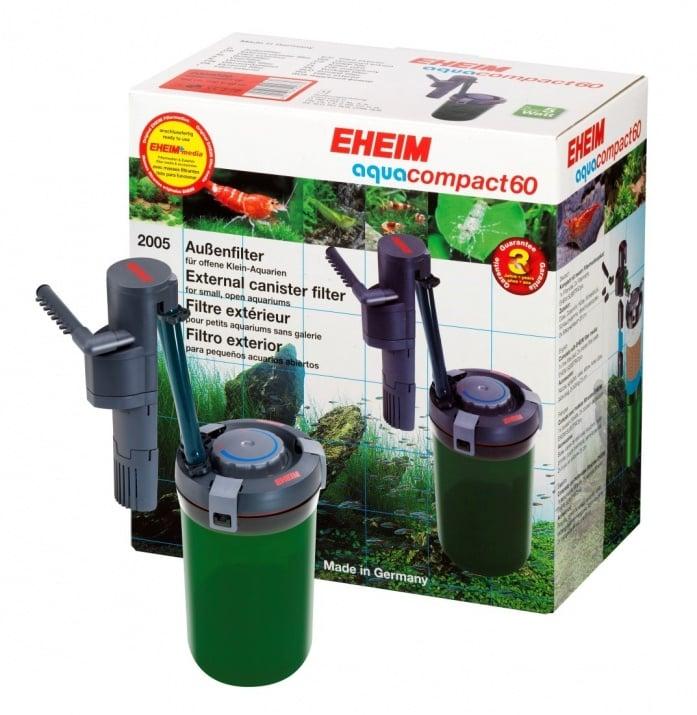 Външен филтър aquacompact 60 с EHEIM filter media SUBSTRATpro